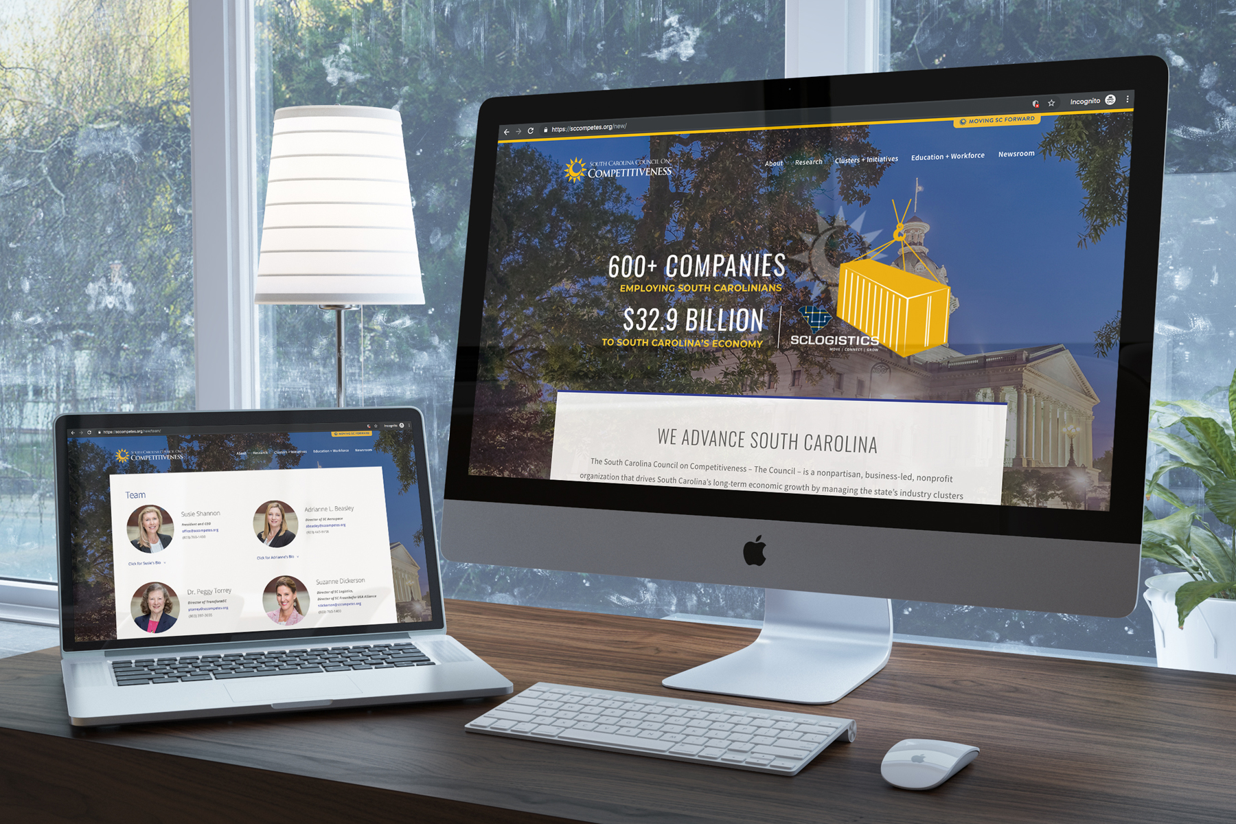 Work created for south carolina web design firms octagon in columbia sc